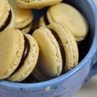 Cardamom Macarons