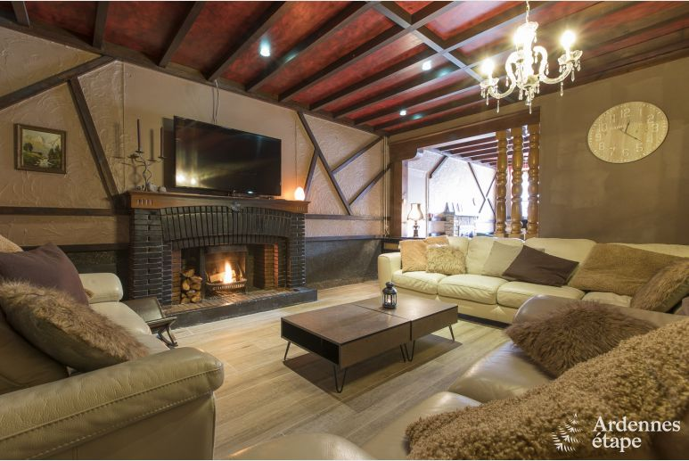 Holiday cottage in Vresse-Sur-Semois for 22 persons in the Ardennes
