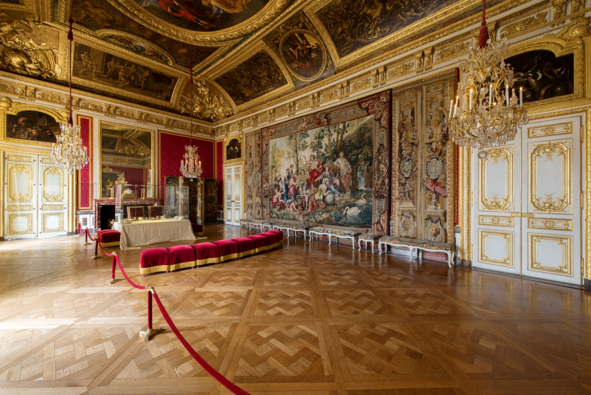 Decor De Parterre The Queen S Apartments Palace Of Versailles