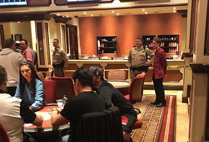 BELLAGIO POKER ROOM ROBBED Poker business