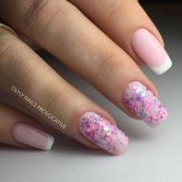 Cute French Manicure - Artificial Nail Designs