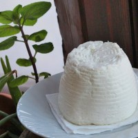Mizithra, the soft white cheese of Crete.