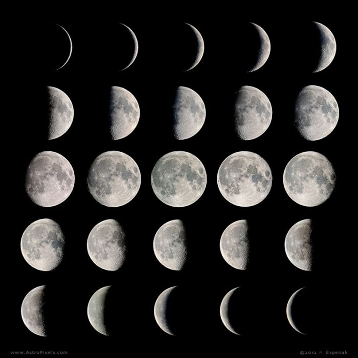 October Moon Phase Calender 2015  Moon In 2017 Astronomy Essentials Earthsky