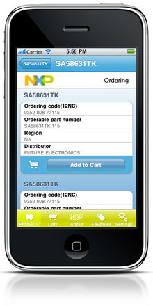 NXP Launches iPhone Application