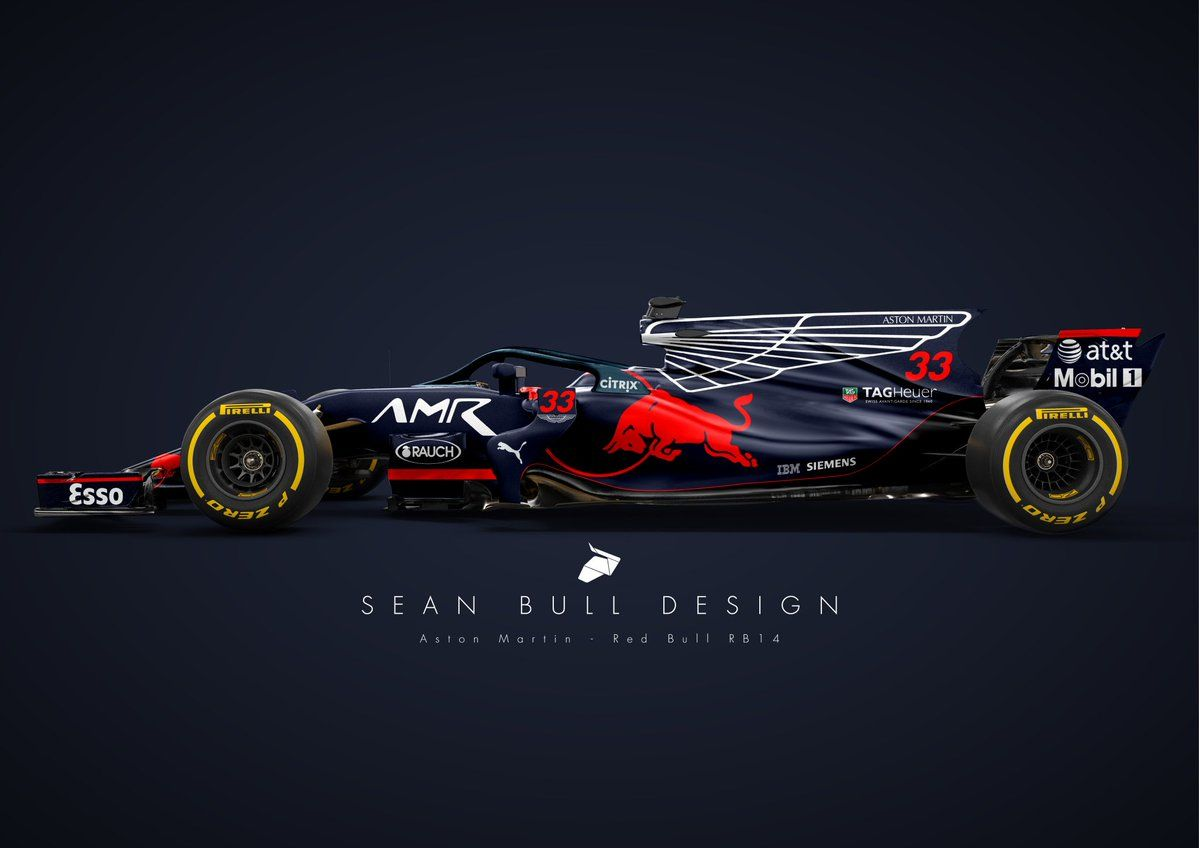 Wallpaper Mobil Sport Hd A Stunning Livery For Red Bull Racing S 2018 Rb14