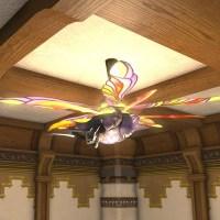 Deep Hive Ceiling Fan FFXIV Housing - Interior