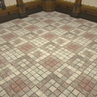 Checkered Flooring FFXIV Housing - Interior