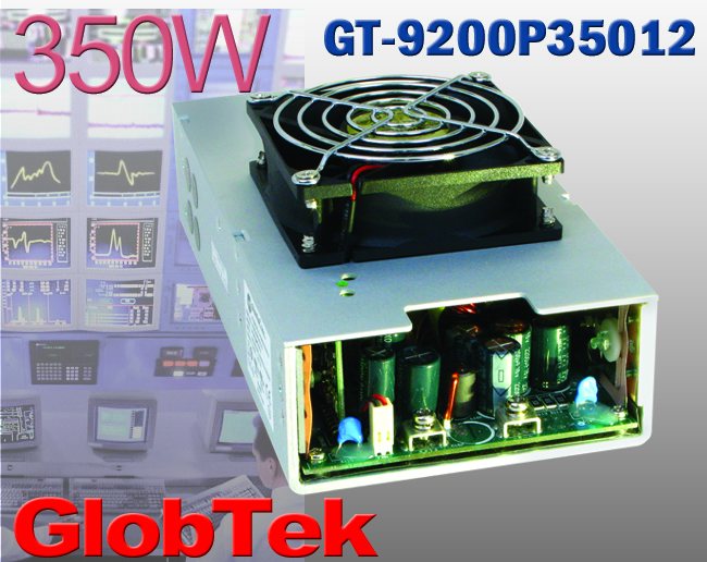 GlobTek 350-W Supply Serves Demanding Applications GlobTek