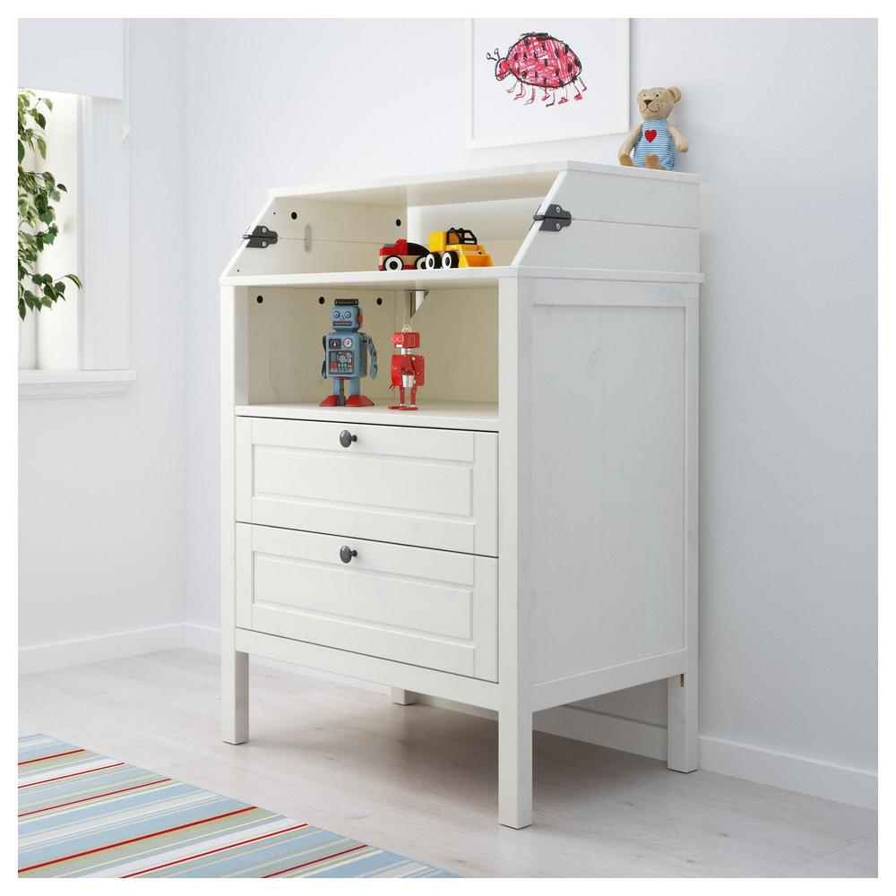 Changing Table Chest Of Drawers Sundvik Changing Table Review Table Design Ideas