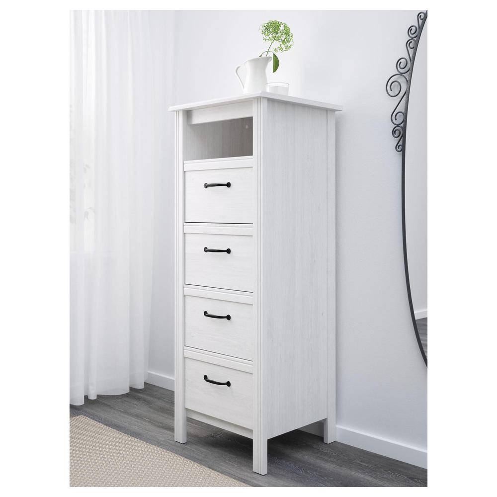 Brusali Brusalet Chest Of Drawers With 4 Drawers - White (202.527