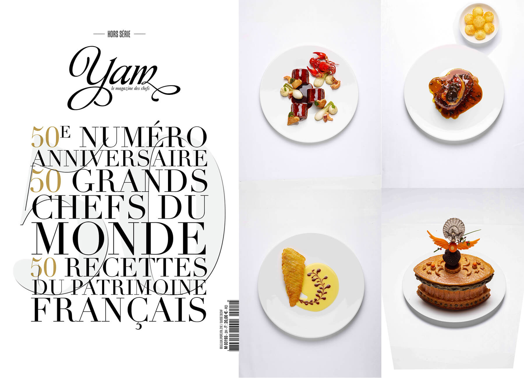 Cuisine Yam 50 Heritage Recipes Created By Institut Paul Bocuse Showcased In The
