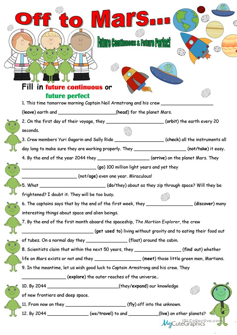 future tense of the verb worksheets