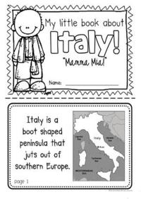 Geography for kids - Europe - Italy worksheet worksheet ...