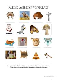 Native American Worksheets Gallery - worksheet for kids ...