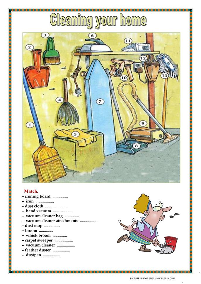 house cleaning printables