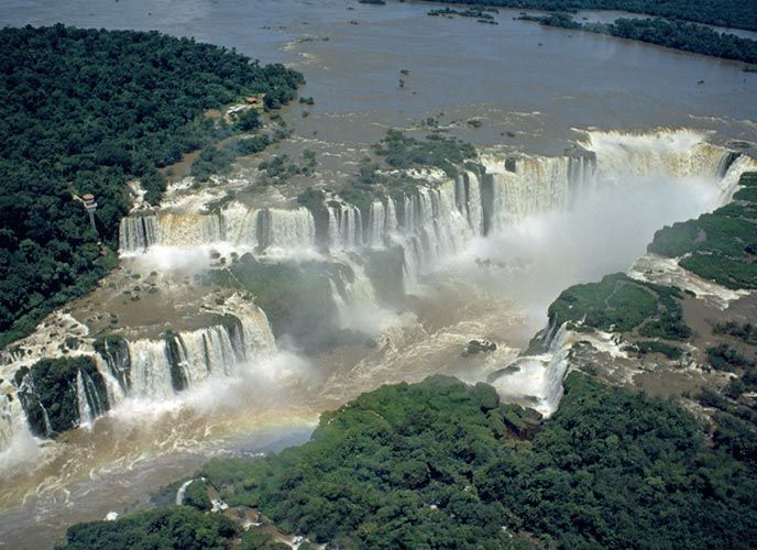 Blue Nile Falls Wallpaper Argentina Paraguay Pledge To Save What Is Left Of The