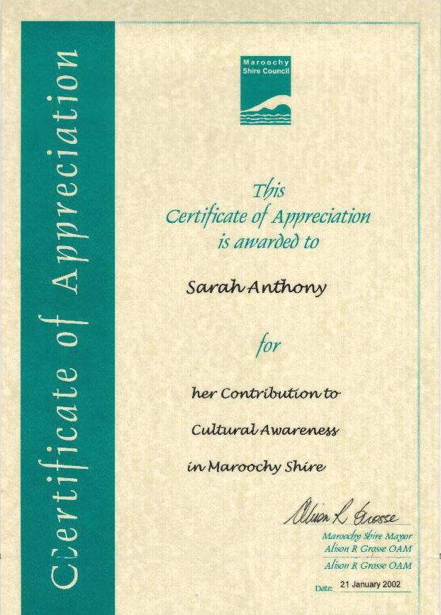 Certificate Of Appreciation Wording Samples - Design Templates