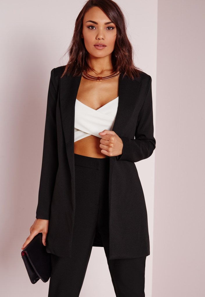 Long blazer MissGuided