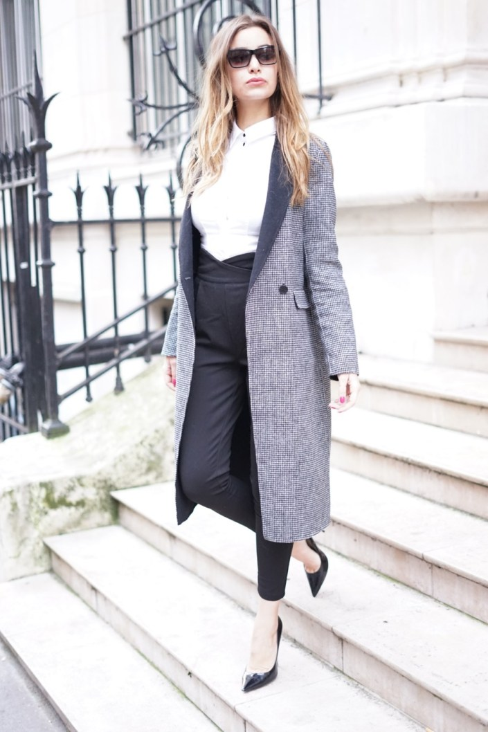 How to wear a working girl look