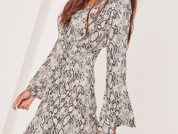 Dress snake prints MissGuided