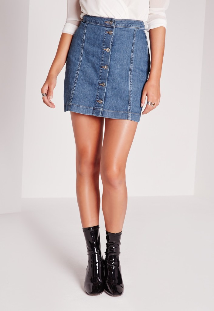 Jeans skirt MissGuided
