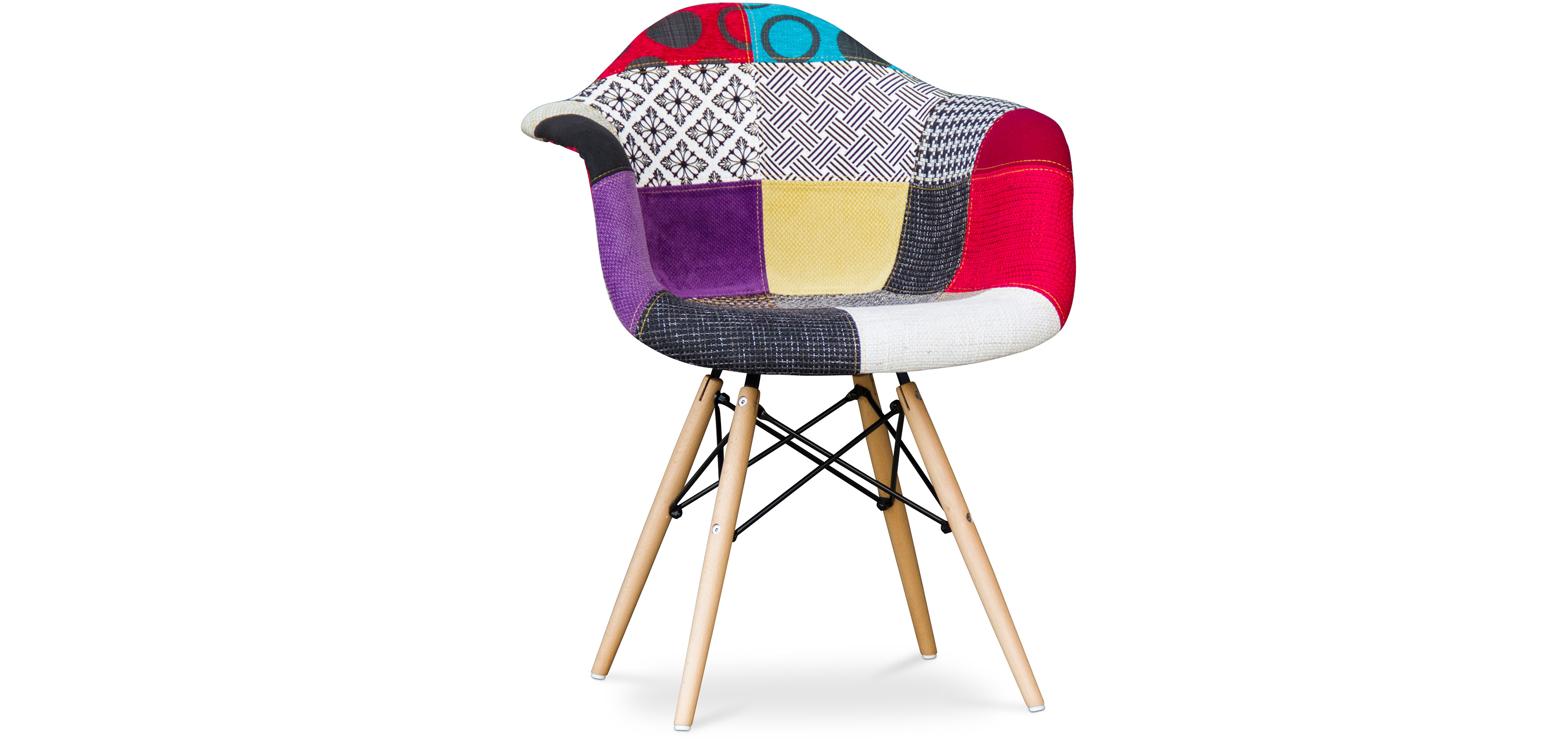 Chaise Design Patchwork Chaise Patchwork Eames Daw Chair Special Patchwork Upholstery