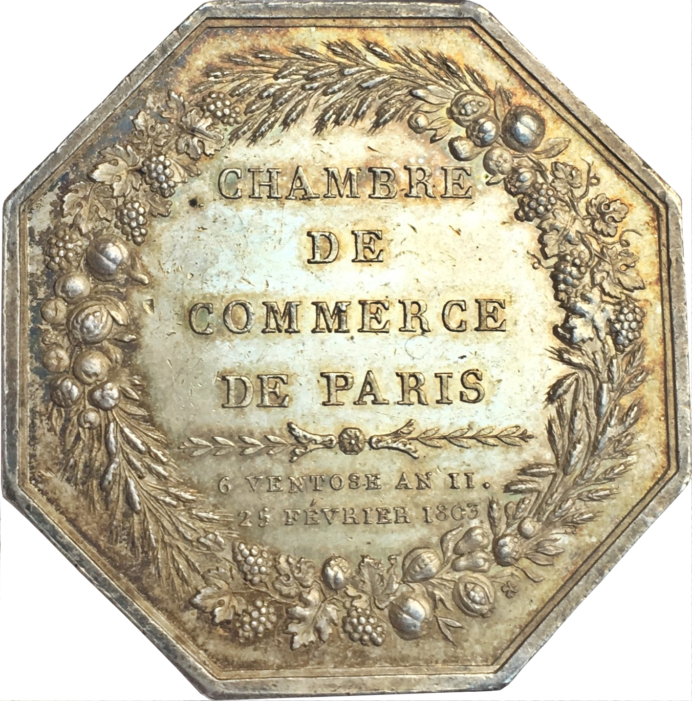Chambre De Commerce Paris Consulat Token Chamber Of Commerce Paris Tokens Numista