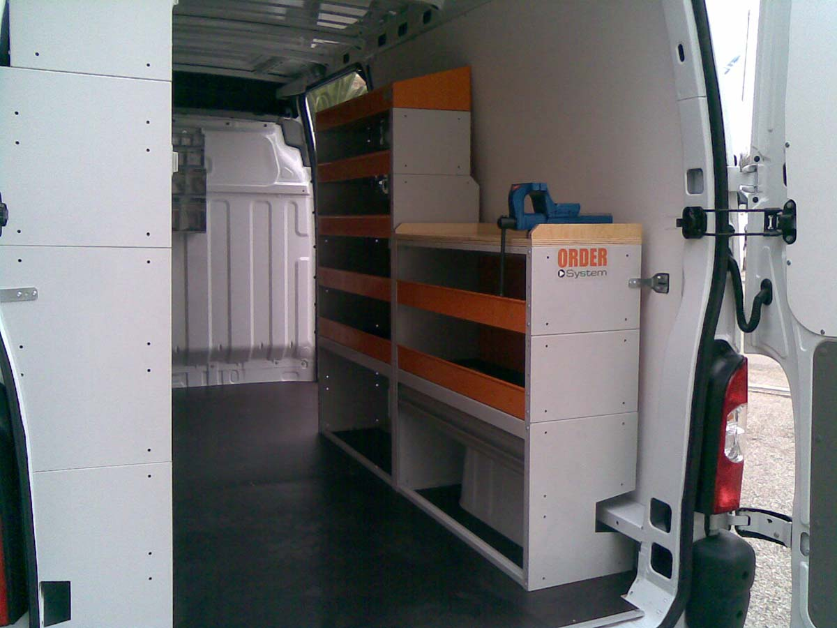 Kit Amenagement Van Fitting Out For Renault Master Vans By Order System