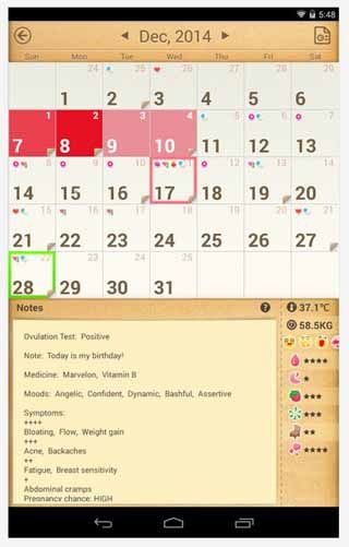 Period Calendar Tracker APK for Android