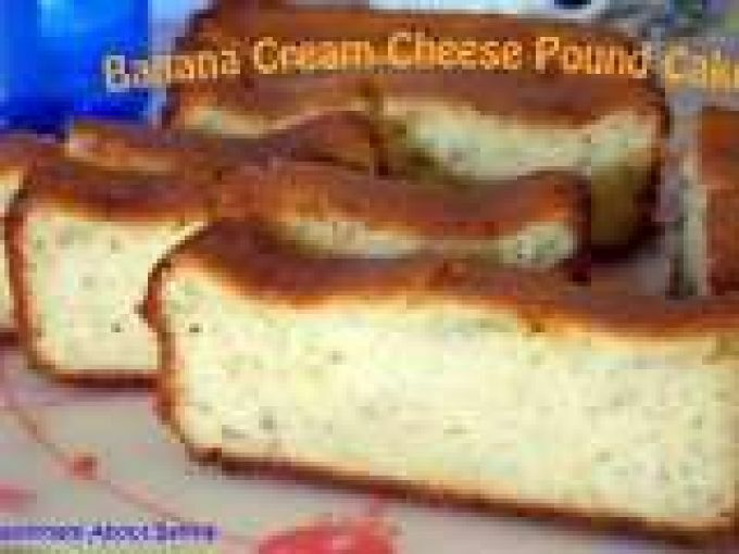 Banana Cream Cheese Pound Cake By Passionate About Baking