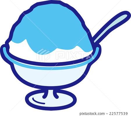 shaved ice, vector, vectors - Stock Illustration 22577539 - PIXTA