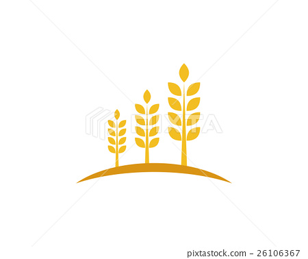 wheat Logo Template - Stock Illustration 26106367 - PIXTA - wheat template