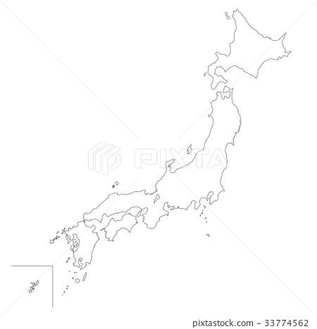 Japan Outline Map Best Photos Of Printable Outline Map Of Japan