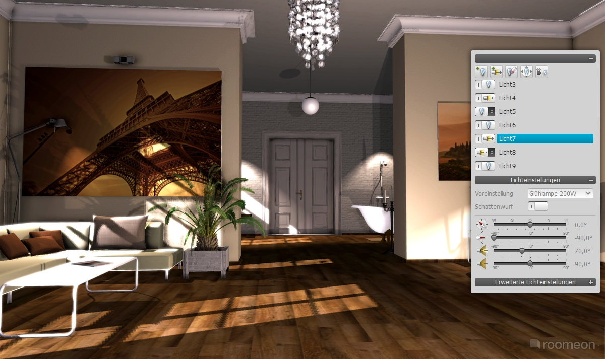 Kostenloses 3d Programm Roomeon The First Easy To Use Interior Design Software
