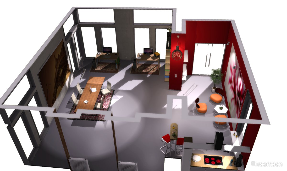 3d Wohnungsplaner Roomeon The First Easy To Use Interior Design Software