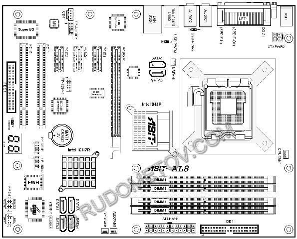 pentium 4 motherboard block diagram