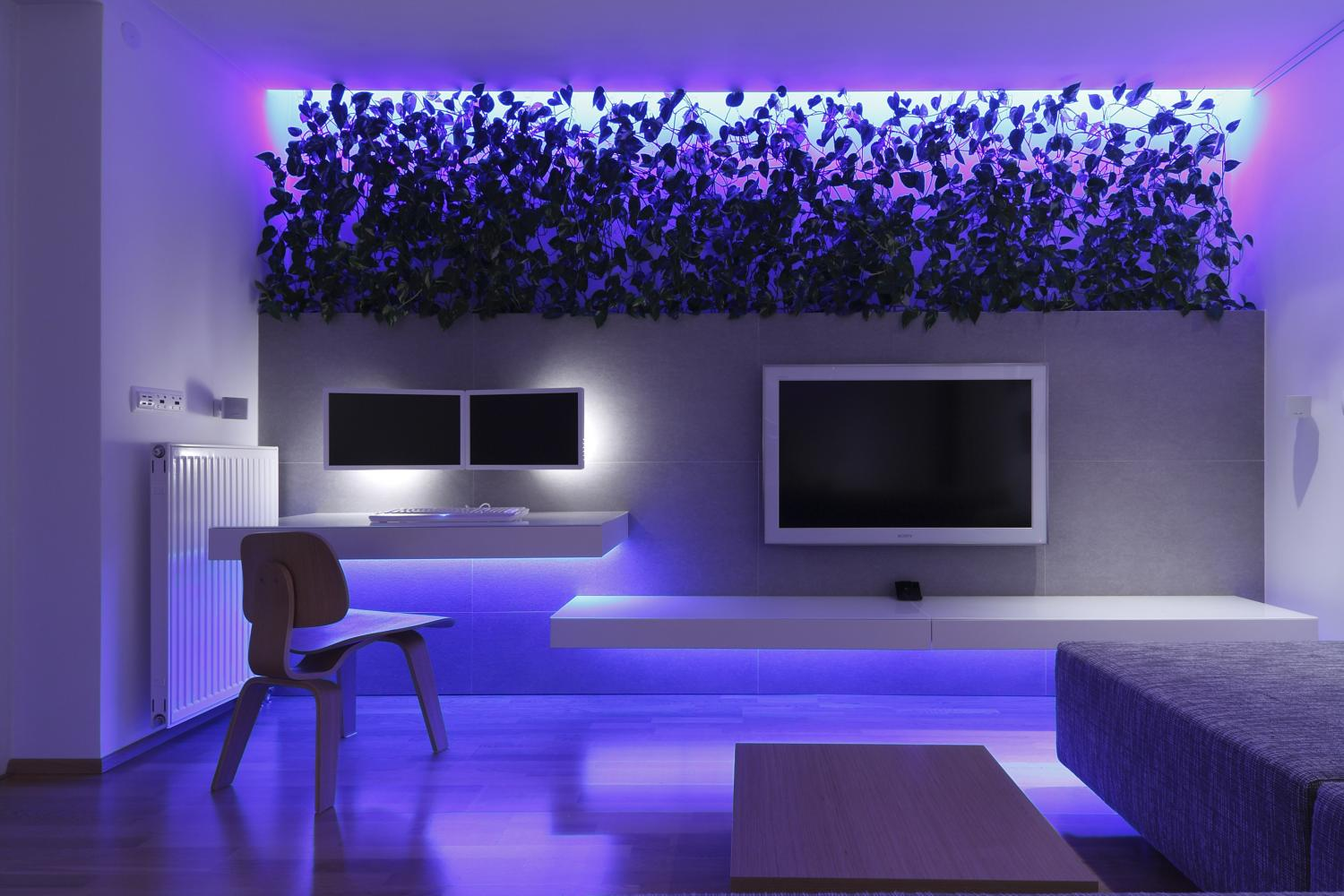 Decoration Led Interieur Color Rgb Led Backlight In Interior Rules Architects