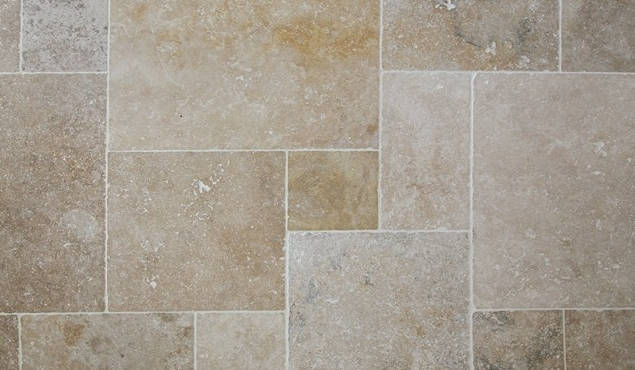 Sol En Travertin Travertin Classic Mix Tumbled Big Opus 1.5cm - Simac Home
