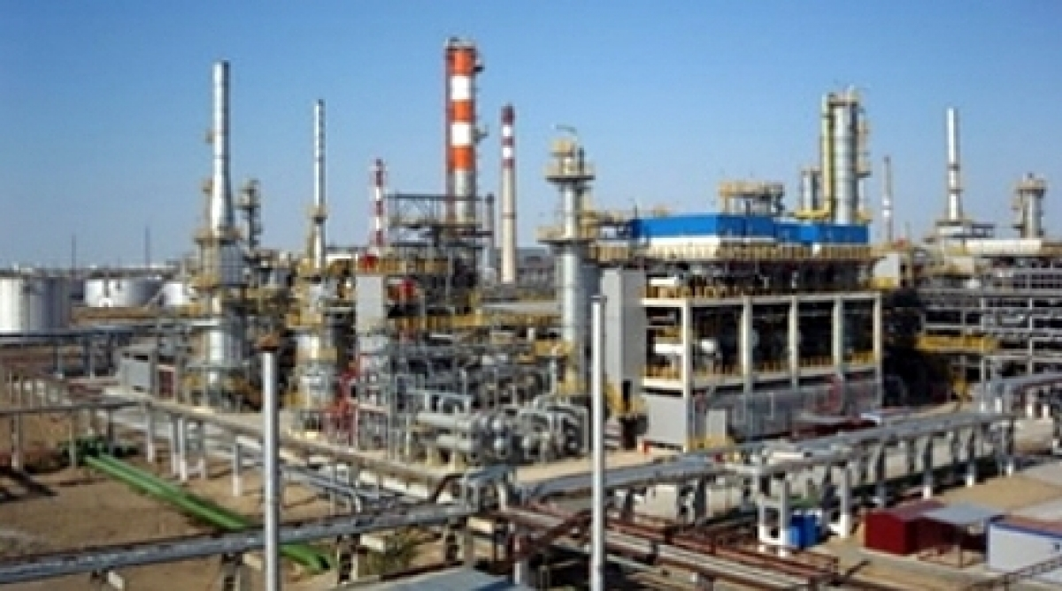 Furnace Went On Fire In Shymkent Oil Refinery