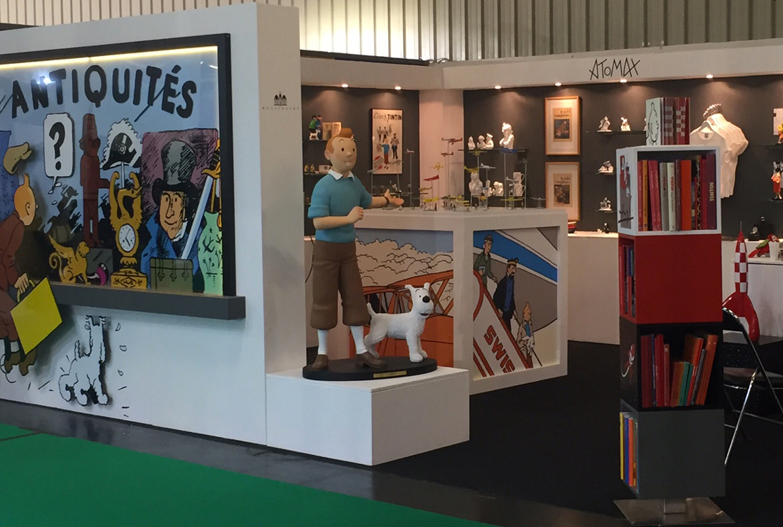 Salon Nuremberg Tintin At The Toy Fair Of Nuremberg