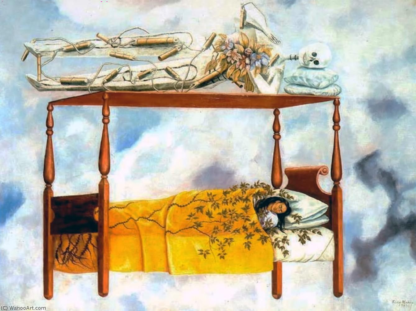 Arte De Mexico Beds The Dream The Bed 1940 By Frida Kahlo 1907 1954