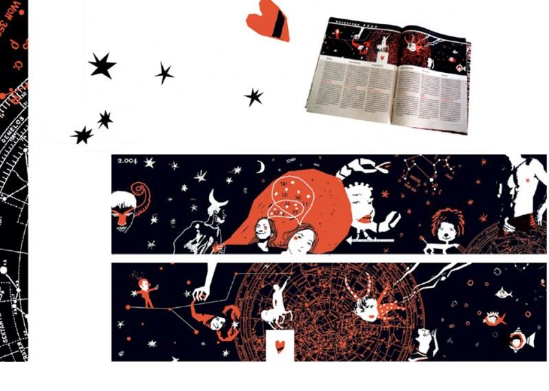 EDITORIAL Ilustraciones para La Vanguardia Dominical. Horóscopos.