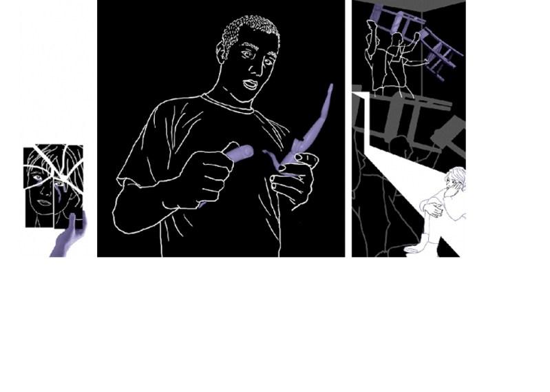 EDITORIAL Ilustraciones para La Vanguardia Dominical. Maltratadores