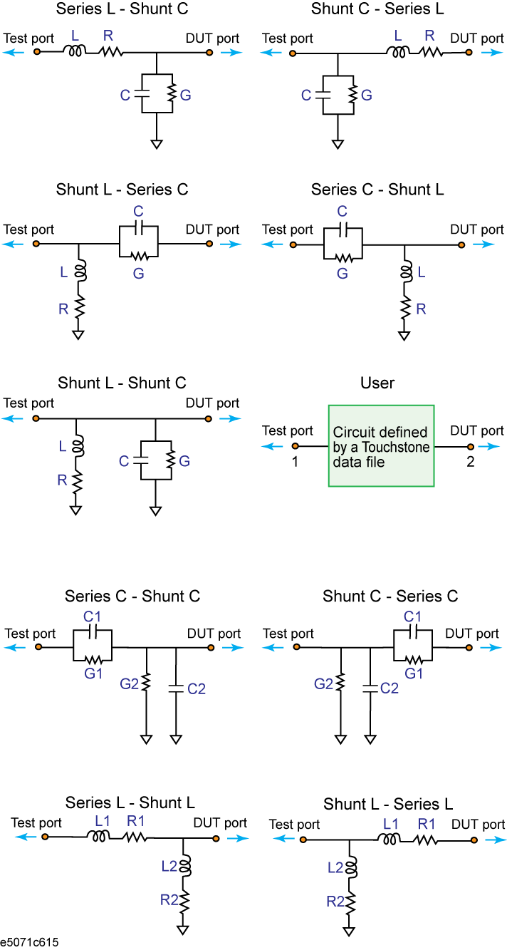Port Network Determining Characteristics After Adding A Matching Circuit
