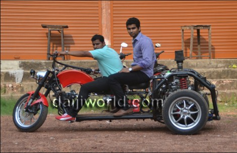 The project has been designed by four students - Sayyed Abdul, Prakyath, Apoorv Prem, and Satyam.