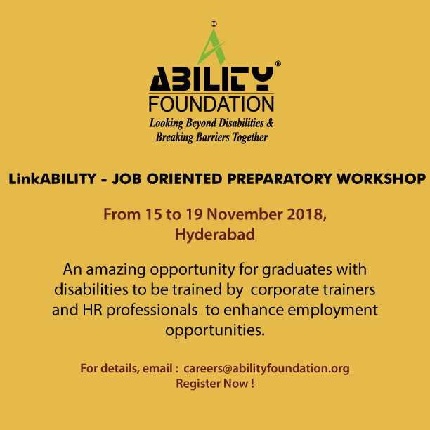 LinkAbility - Job oriented preparatory workshop for persons with