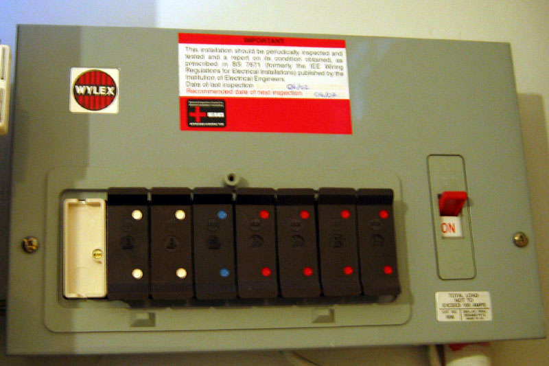 older electrical fuse boxes
