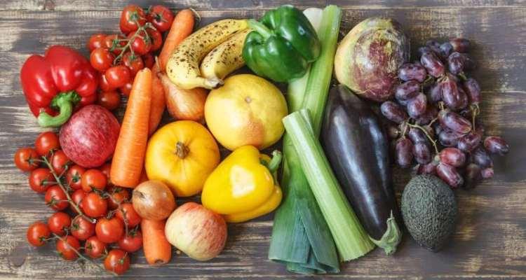 φρούτα και λαχανικά υγιεινή διατροφή