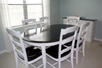 DIY: Refinished Kitchen Table and Chairs
