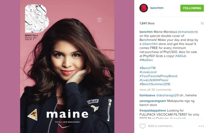 Maine for Bench